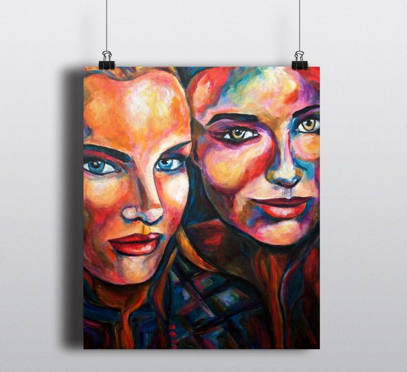 Cirque du Soliel - Two women